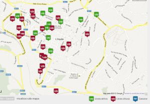 mappa rimozioni